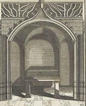 Liste des souverains mérovingiens et carolingiens inhumés hors de Saint-Denis et hors de Paris Crbst_Brunehaut_20tombe1