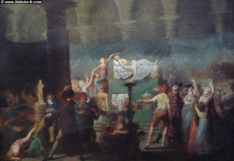 JEAN-PAUL MARAT - Tombes sépultures dans les cimetières et autres lieux